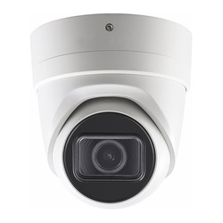 8 MP 4K Surveillance Dome IP Camera Isolated. Wall Mount Pendant CCTV Camera. Ceiling Mounted Closed Circuit Television Camera. Home Security System. Night Vision Electronic Device. Digital Equipment