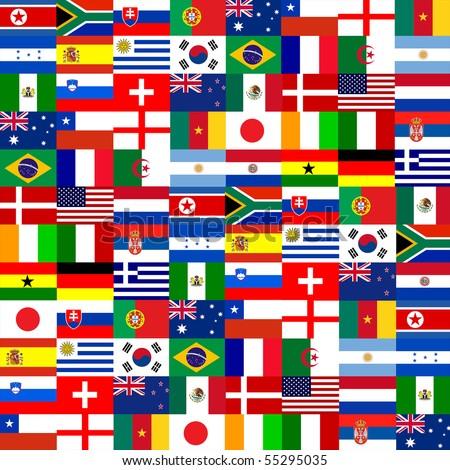 32 National flag pattern.