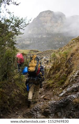 nature rock climbing  #1152969830