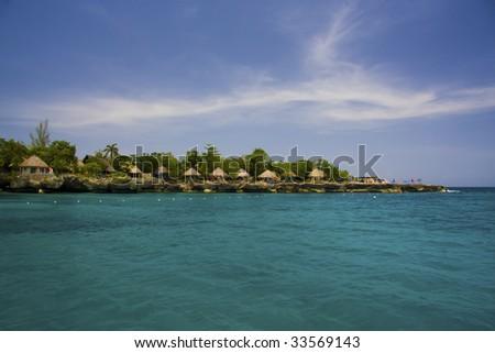 Negril Coast, west Jamaica, Caribbean