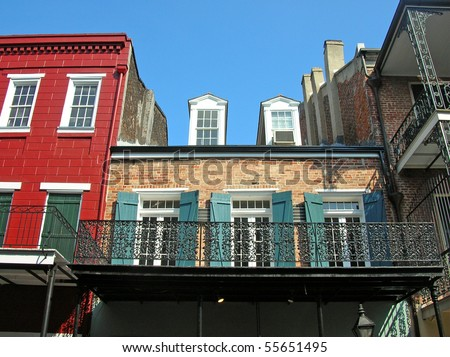 New Orleans French Quarter 2 block