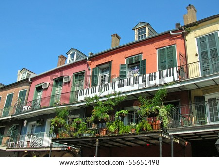 New Orleans French Quarter 3 block