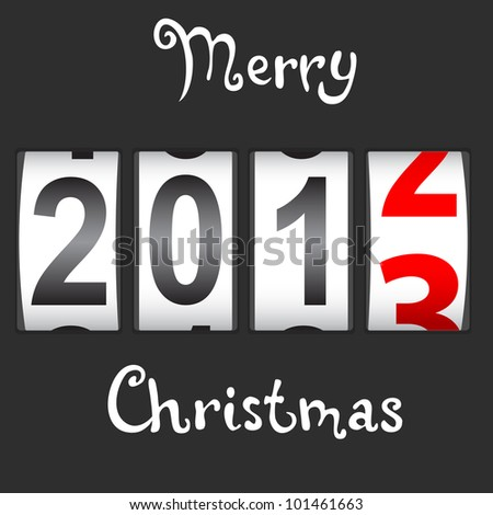 2013 New Year counter