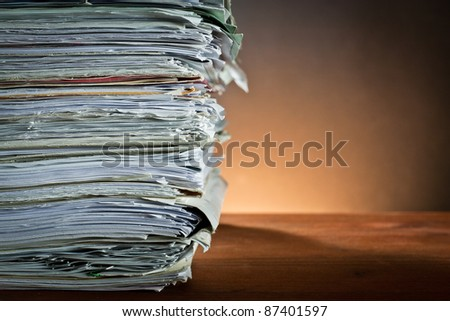 ,newspaper,document for information, - stock photo
