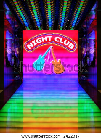 """Night Club"" and three guitars are my own graphics"