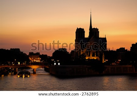 Notre-Dame of Paris cathedral