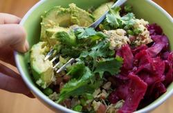 Nourishing, whole, functional, healthy foods...