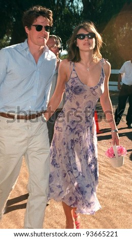 Hugh Grant couple