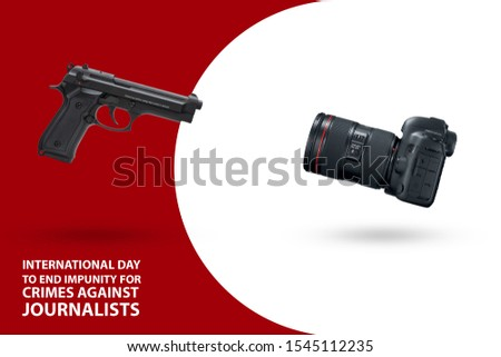 2. November International Day to End Impunity for Crimes against Journalists