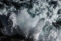 ocean water  breaker pattern background