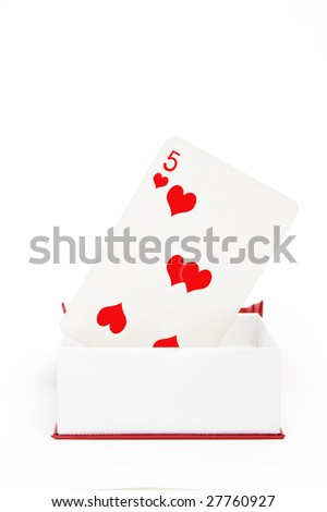 of hearts playing card