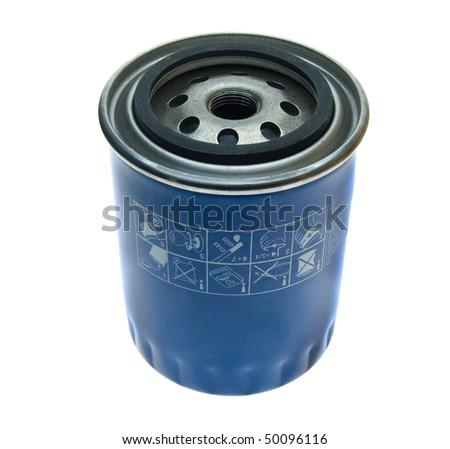 oil filter a car