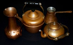 Old copper vessels used by our ancestors