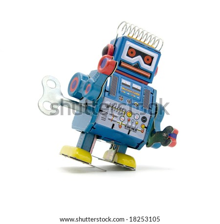old robot toy