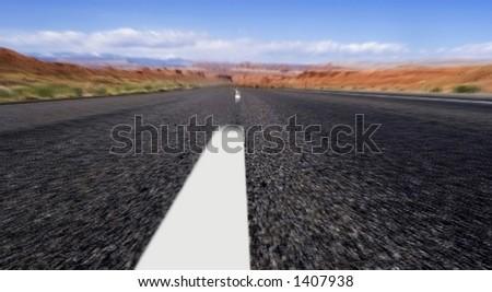 on the road to vegus, Motion Blur