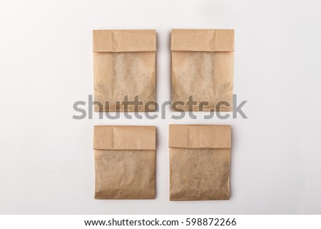 Paper package for herbs #598872266