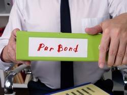 Par Bond phrase on the page.