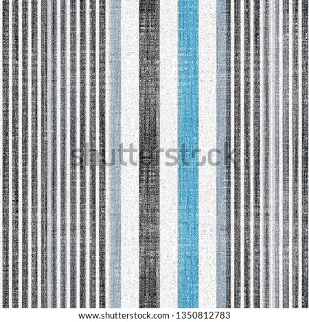 pastel, blue, beige  colored modern retro vertical stripes on natural linen textures  background with  vintage effect . Lines Grunge Pattern for Linen, Fabric, Wallpaper. Trendy background