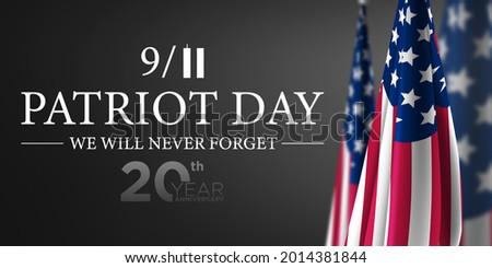 911 Patriot Day USA Background