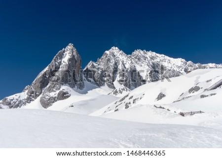 Peak of peak of Snow Mountain