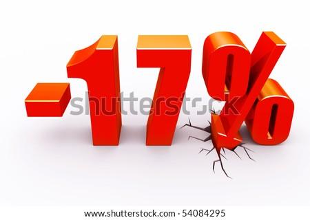 17 percent discount