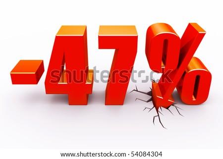 47 percent discount