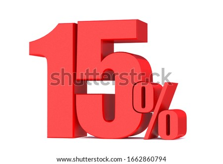 15 Percent off 3d Sign on White Background, Special Offer 15% Discount Tag, Sale Up to 15 Percent Off,big offer, Sale, Special Offer Label, Sticker, Tag, Banner, Advertising, offer Icon