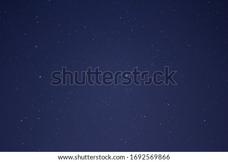 photograph of a large clipping of the starry sky