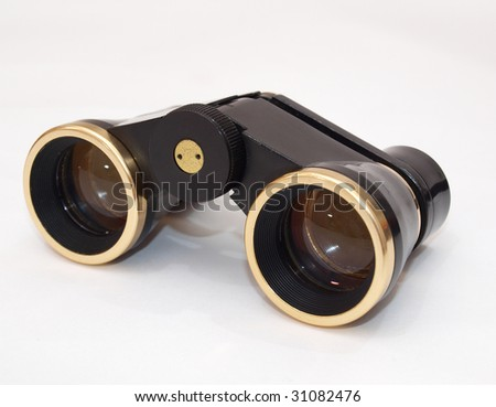 picture theater binoculars .single object on a white background