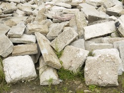 pile of big rocks