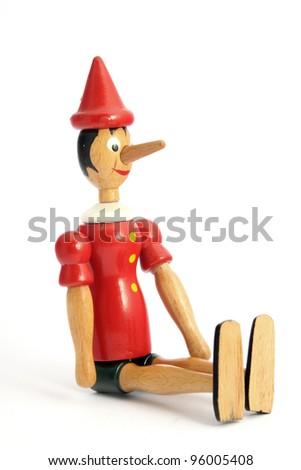"""Pinocchio"" puppet - stock photo"
