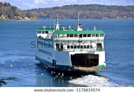 Point Defiance Ferry, WA-USA