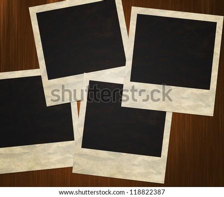 4 Polaroid Background