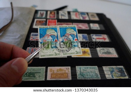 Postage Stamp Love Sharing					 #1370343035