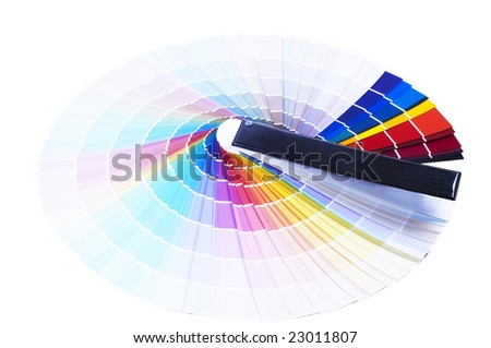 Printing color scale