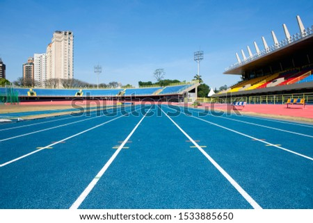 professional track and field photography at stadium