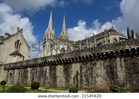 """Quimper"" cathedral"