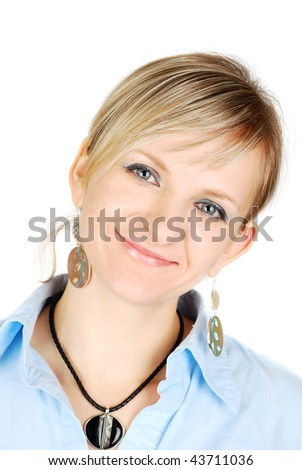 stock-photo--quot-some-nice-beautiful-young-caucasian-lady-with-fashion-jewelry-in-blue-short-isolated-on-the-43711036.jpg