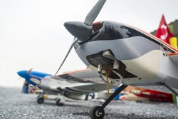 radio-controlled model airplanes