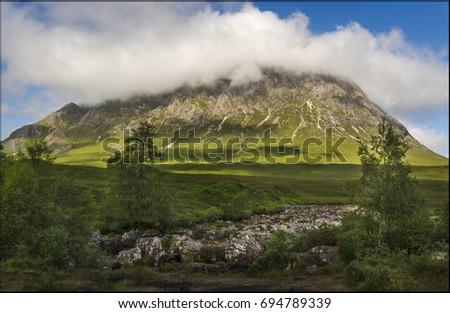 Rannoch Moor Scotland Highland