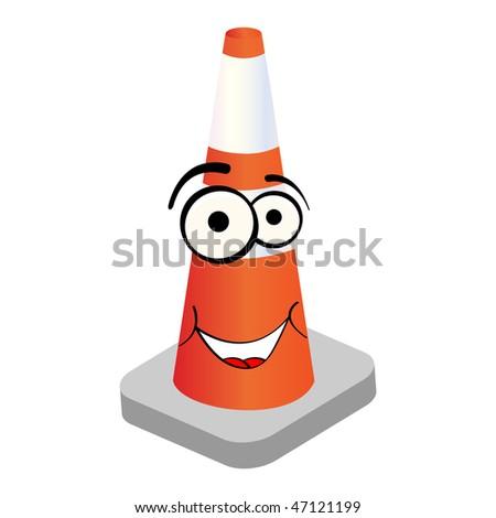 Traffic Cone Cartoon ... traffic cones cartoons traffic cones cartoon funny traffic cones