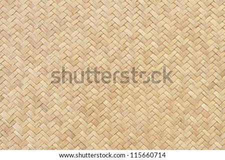 Rattan texture, detail handcraft bamboo weaving texture background.