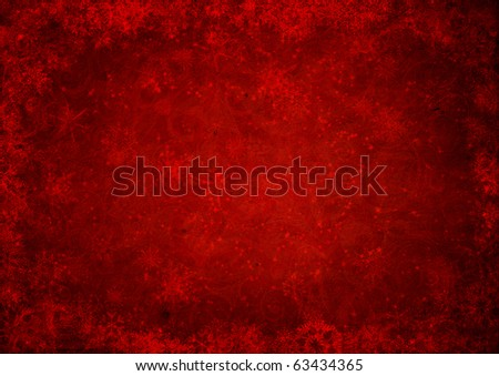 red christmas grunge texture background