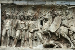 Relief on the Arch of Constrantine, Rome