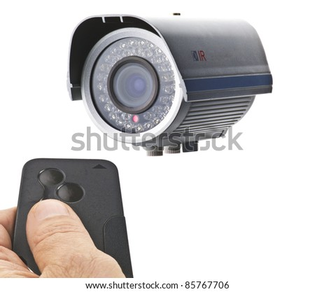 remote control for cameras in use