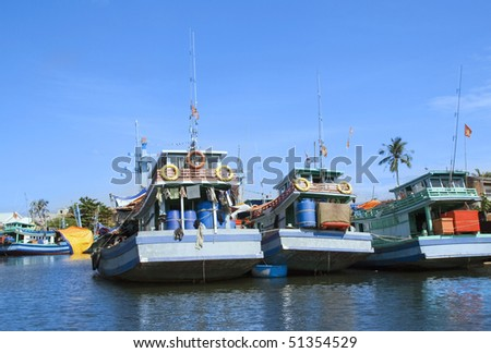 River on Phu Quoc Island, Vietnam