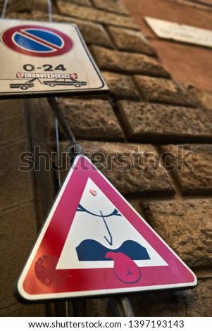 road sign road sign road sign         #1397193143