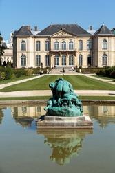 Rodin Museum in Paris. France.
