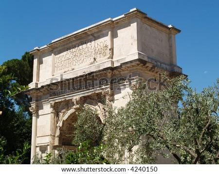 roman arc triomphe
