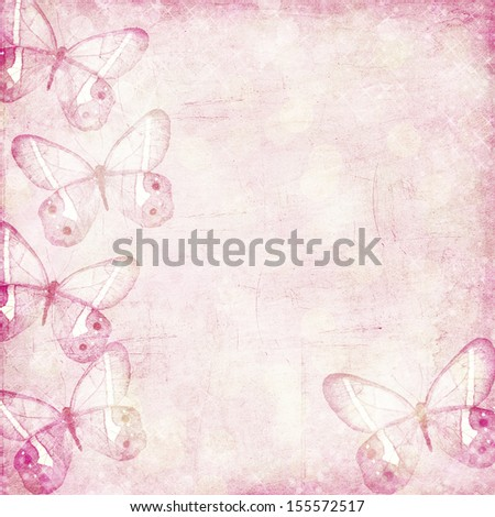 romantic grunge becakground in pink